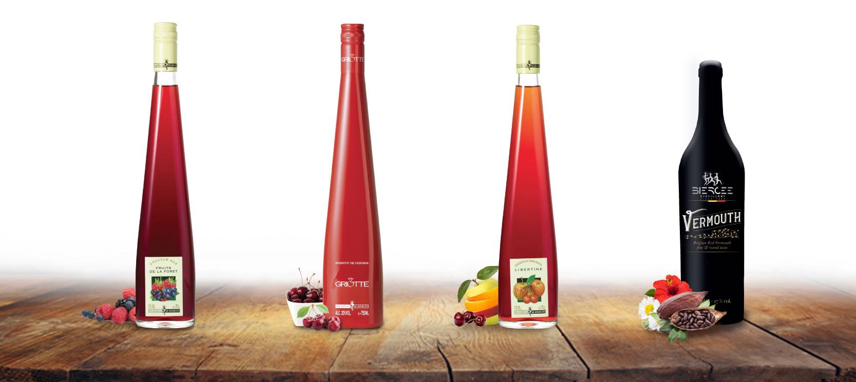 apéritifs belge - distillerie de biercée