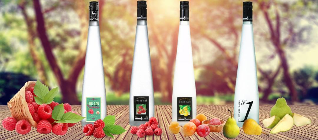 BELGISCHE eau-de-vie - distillerie de biercée