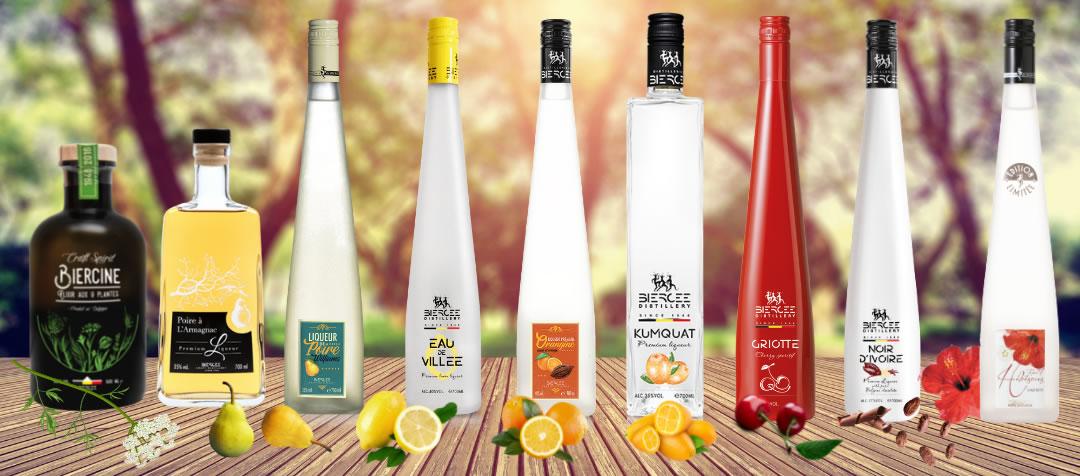 liqueur belge - distillerie de biercée