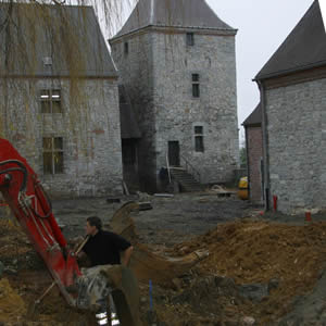 ferme ragnies travaux amenagement cour
