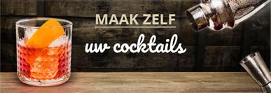 Maak zelf uw cocktails