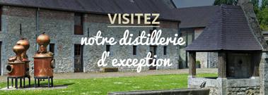 Visitez notre distillerie